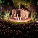 Outdoor theatre and opera in London