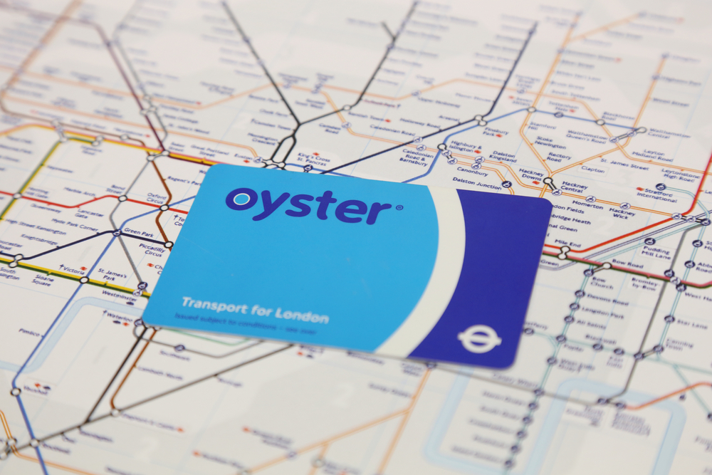 Oyster Card To Travel Around London